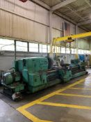 MONARCH 4025X 156 ENGINE LATHE, 40'' SWING, 24'' CHUCK, 12'' STEADY REST, 16' FLAME HARDENED BED,