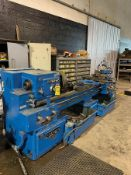 AMERICAN HMT ENGINE LATHE, 36'' SWING, 16'' CHUCK, (2) 10'' STEADY RESTS, 10' BED, 1400RPM CAP.,