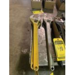 (2) 24'' CRESCENT WRENCHES