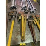 (3) 24'' PIPE WRENCHES
