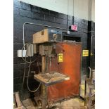 ROCKWELL MODEL: 20 DRILL PRESS, VARIABLE SPEED 125-1,250 RPM CAP., 3' RANGE IN TABLE