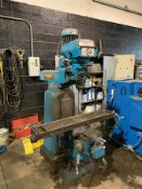 CLAUSING KONDIA FV-1, VERTICAL MILLING MACHINE, S/N V-581, 60-4,000 RPM CAP., ACU-RITE MILL MATE