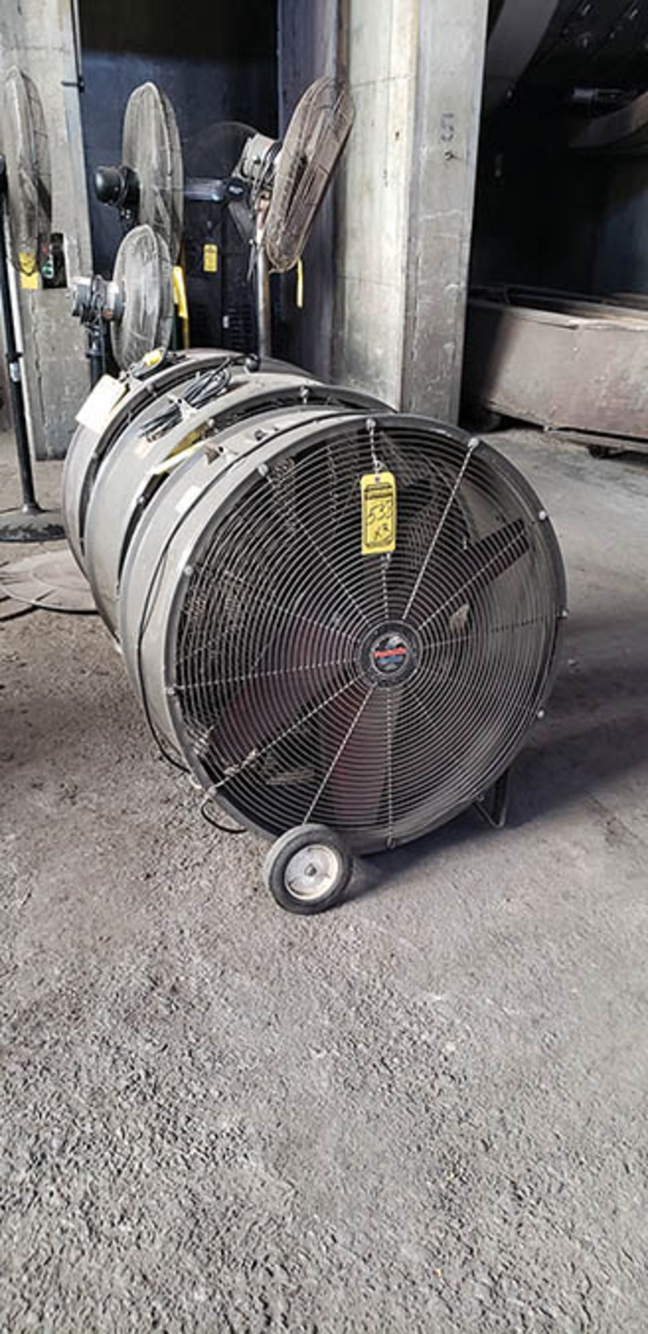 (3) PORTABLE COOLERS 36''