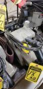 (2) PORTER-CABLE 4'' X 24'' BELT SANDERS W/SANDING BELTS