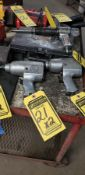 (2) 1/2'' PNEUMATIC IMPACT WRENCHES: CP & FLORIDA PNEUMATIC