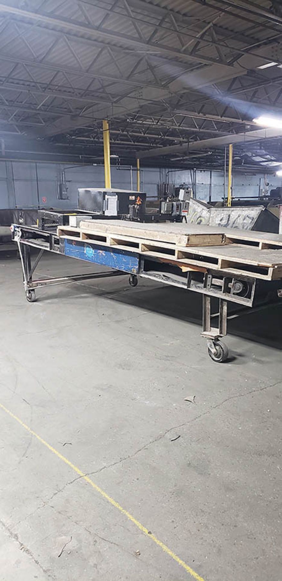 Lot 276 - HIDE HALVING MACHINE, MADE IN HOUSE