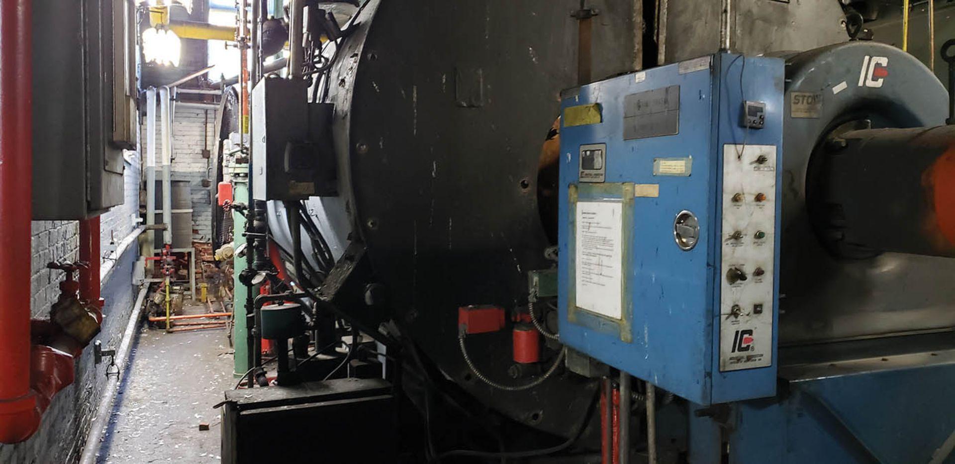 1958 AMES 500 HP #4 OIL BOILER, 150 LBS. MAX. PRESSURE, S/N 60017 - Image 2 of 4