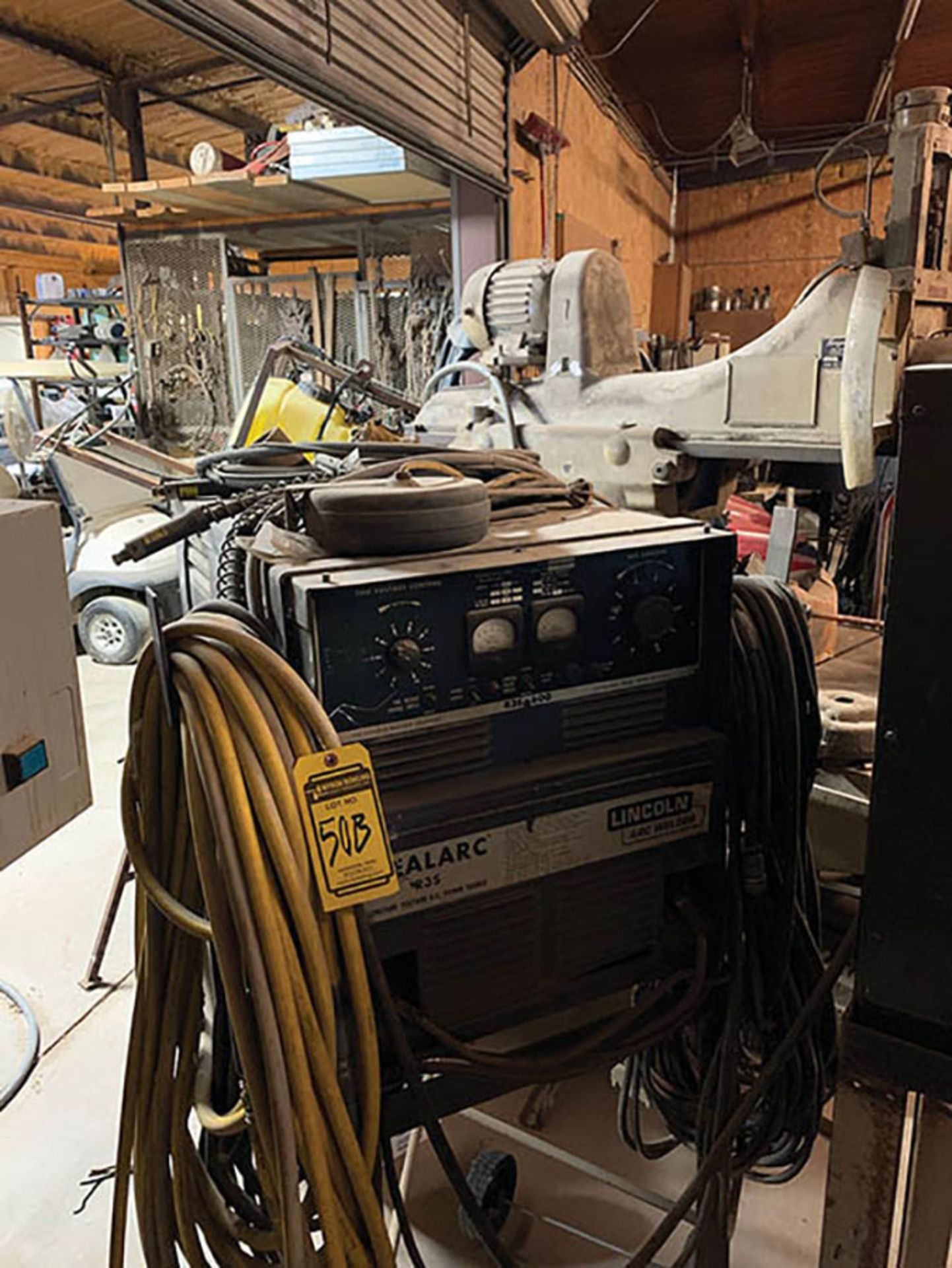 LINCOLN R3S 600 WELDING POWER SOURCE, S/N AC295017