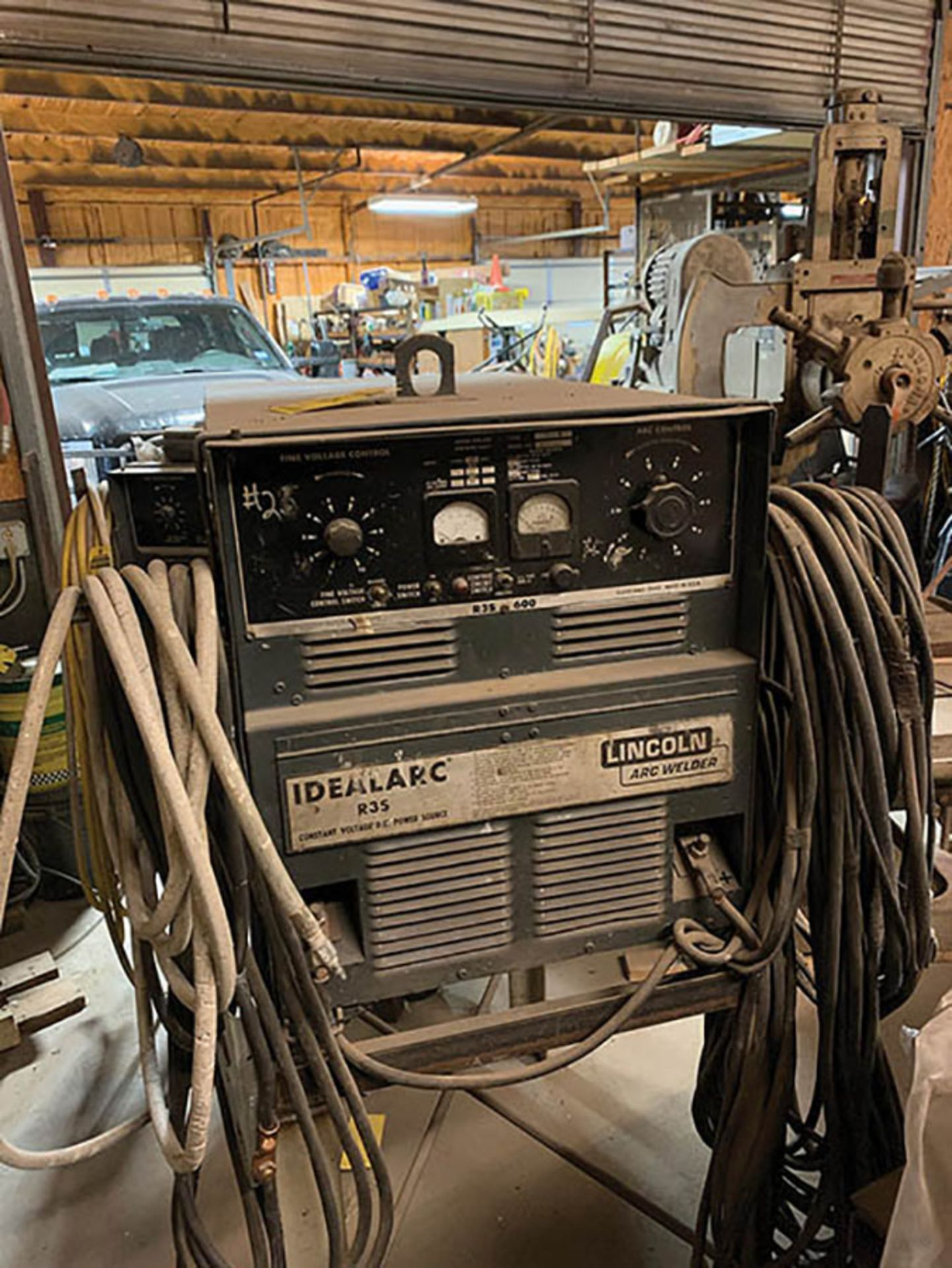 LINCOLN R3S 600 WELDING POWER SOURCE, S/N AC374411