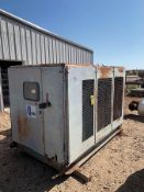 QUINCY, MODEL Q490, PORTABLE 100 HP, DIESEL POWERED AIR COMPRESSOR