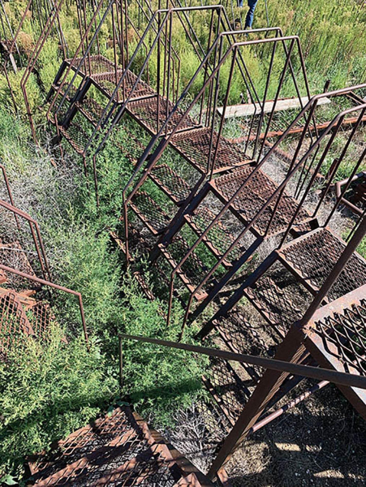(11) 4' WALK OVER STEEL STEPS - Image 2 of 2