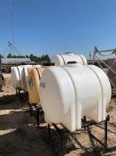 (4) PLASTIC CHEMICAL TANKS, 225 GAL. CAP.
