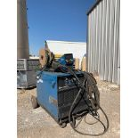 MILLER DIMENSION 652, WELDING POWER SOURCE, W/ MILLER 70 SERIES 24V WIRE FEEDER