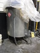 STAINLESS STEEL CONCENTRATE TANK