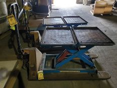 CATERPILLAR 5,500 LB HYDRAULIC PALLET JACK (NO TABLE)