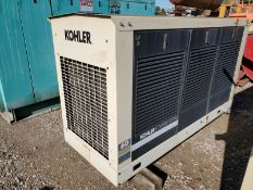 KOHLER NATURAL GAS POWER GENERATOR, MODEL 60RZ, AUTOMATIC 13V OUTPUT BATTERY CHARGER, 2000 YEAR FORD