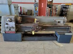 CLAUSING-COLCHESTER 17'' HORIZONTAL GAP BED ENGINE LATHE, 103'' BED LENGTH TAIL STOCK, CROSS