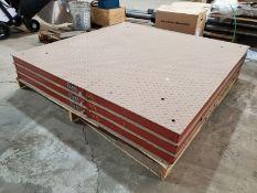 B-TEK 10,000 LB. 60'' X 60'' PLATFORM FLOOR SCALE, MODEL BT-6060-10K-FEFS-TA-SE, CLASS 3 (NO
