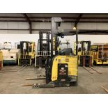 """*LOCATED IN OHIO* 2015 HYSTER 3,500-LB. CAPACITY REACH TRUCK, MOD NR35, 111"""" LOWER/251'' LIFT HEIGHT"""