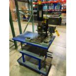 KENSOL MARKING MACHINE, MODEL K-15T, S/N T-2221, 115V, 400 WATT