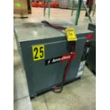 ACCU-CHARGER INDUSTRIAL BATTERY CHARGER, 480V, 3HP, MODEL 750C3-18