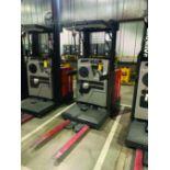 RAYMOND ORDER PICKER, MODEL EASI-0PC30TT, 3,212 HRS, S/N EASI-02-AE30426, 3,000 LB LIFT CAP.