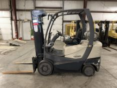 ***LOCATED IN HAMILTON, OHIO*** 2013 CROWN 5,000 LB. C-5 FORKLIFT, LPG, 3-STAGE MAST, 7,968 HOURS
