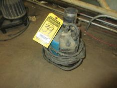 (2) SUBMERSIBLE PUMPS; RIDGID 1/2 HP AND OTHER