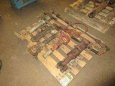 PALLET W/ ASSORTED AIR HAMMERS, DRILLS