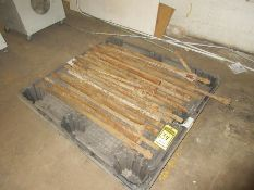 PALLET W/ ASSORTED AIR TOOL DRILL BITS