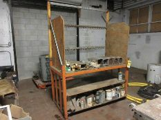 WELDING ROD; 3/32'', 5/32'', 3/16'' AND MORE, W/ WORKBENCH