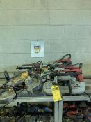 (6) ASSORTED PORTABLE BANDSAWS