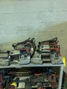 (6) MILWAUKEE PORTABLE BANDSAWS