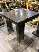 STEEL SURFACE PLATE ON STEEL STAND