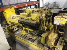 CATERPILLAR Generator Set, Model 8L6245, S/N 6379545, 75kW