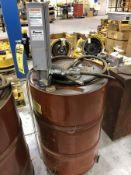 BALCRANK TRANSFER PUMP, MODEL 1130-015, MAX AIR INPUT PRESSURE 150 PSI, MAX FLUID PRESSURE 490