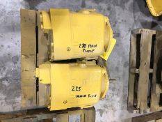 (2) CATERPILLAR PISTON PUMPS FOR A 235 EXCAVATOR REBUILT