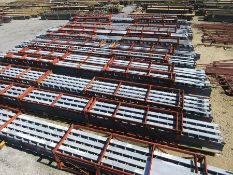 LARGE LOT OF STRUCTURAL STEEL: BEAMS UP TO 734'' X 24'' X 12'' X 7/8'', LOCATION: GRID 2G