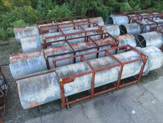 STRUCTURAL STEEL & DUCTING: ROUND DUCTING MEASURES 397'' X 74'', LOCATION: GRID 4J
