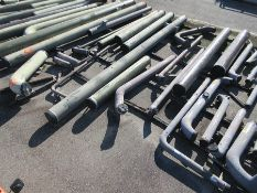 LOT OF ASSORTED PIPE: 6'' - 24'' DIA. UP TO 570'', 37,498 LB., LOCATION: GRID 4A