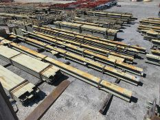 LARGE LOT OF STRUCTURAL STEEL: BEAMS, GIRDERS, BEAMS UP TO 606'' X 21'' X 20'' X 4'', LOCATION: GRID