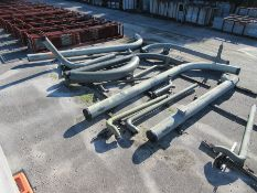 LARGE LOT OF ASSORTED PIPE: 6'' TO 30'' DIA. UP TO 552'', 1,000 LB. - 37,101 LB., LOCATION: GRID 4E
