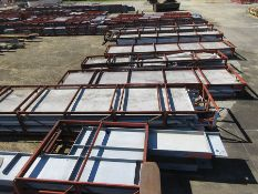 LOT OF STRUCTURAL STEEL: BEAMS UP TO 1115'' X 47'' X 12'' X 1 1/4'', LOCATION: GRIDS 2IA & 2JA