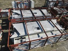LOT OF STRUCTURAL STEEL: ASSORTED PIECES, BEAMS, DUCTING, BEAMS UP TO 336'' X 41'' X 16'' X 2 1/4'',