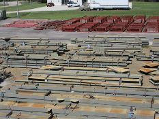 LARGE LOT OF STRUCTURAL STEEL: BEAMS, COLUMNS, BEAMS UP TO 477'' X 18'' X 16'' X 3'', LOCATION: GRID