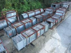 STRUCTURAL STEEL & DUCTING: LARGEST CRATE DIMENSION; 265'' X 133'' X 81'', LOCATION: GRID 4I