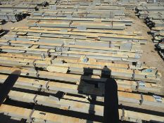 LARGE LOT OF STRUCTURAL STEEL: BEAMS, COLUMNS, BRACES: BEAMS UP TO 654'' X 22'' X 20'' X 5'',