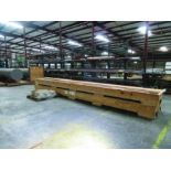 STEELTREE 25 CANTILEVER RACK, 120'' X 48'' X 432'', W/ ASSORTED FUEL OIL & AIR PIPING; 1'', 1 1/2'',