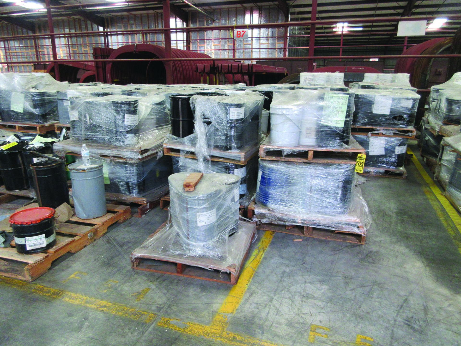 (80 +/-) PALLETS OF STRUCTURAL SCREWS, WASHERS, NUTS, GRID B7 - Image 5 of 5