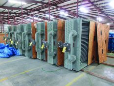 (8) NITROGEN FILLED RADIATORS, 5,000 LB EACH, DIMENSIONS 200'' X 80'' X 26'', (5) EXPANSION